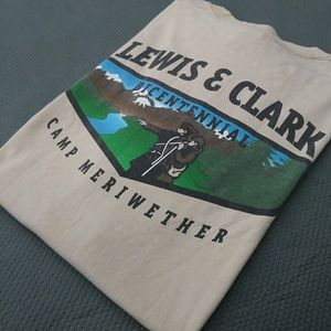 Lewis and Clark Camp T Shirt XXL